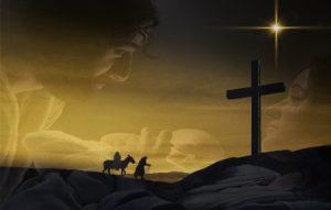 joseph mary and cross